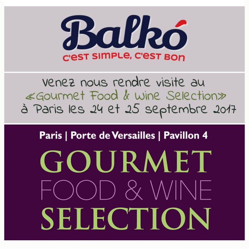 Gourmet Wine &Food Selection 2017